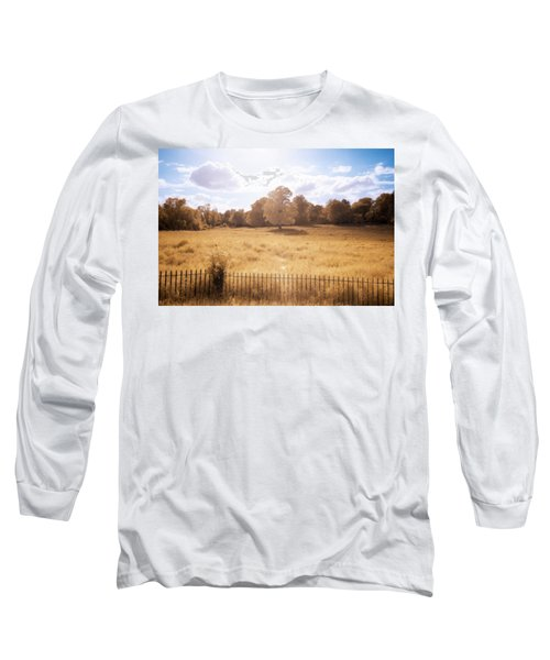 Long Sleeve T-Shirt featuring the photograph Lone Tree Ir by Brian Hale