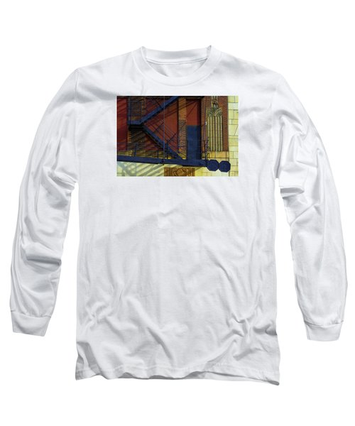 Lonely Days Parking Garage V2 Long Sleeve T-Shirt by Raymond Kunst