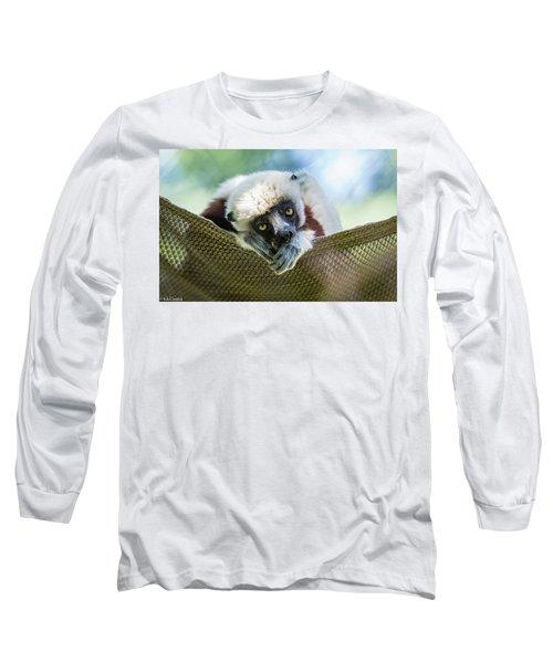 Lonely Lemur Long Sleeve T-Shirt
