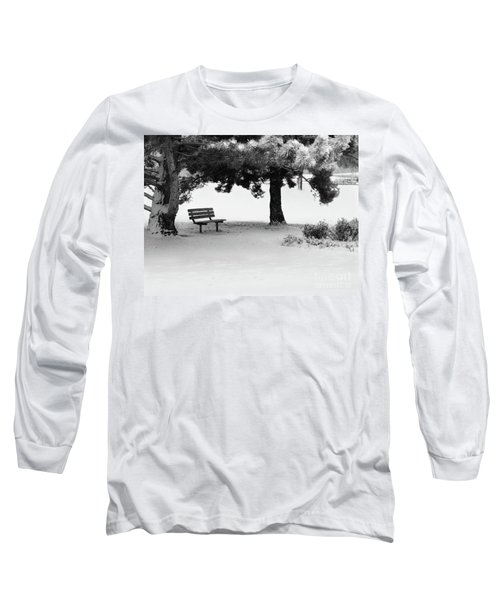 Lonely Park Bench Long Sleeve T-Shirt
