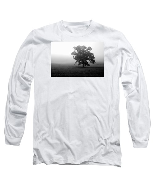 Lonely Tree Long Sleeve T-Shirt by Deborah Scannell