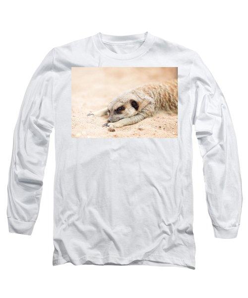 Long Day In Meerkat Village Long Sleeve T-Shirt