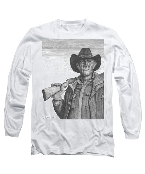 Longmire Long Sleeve T-Shirt by Lawrence Tripoli