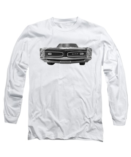 Look At Me - Gto Black And White Long Sleeve T-Shirt