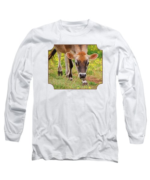 Look Into My Eyes - Painterly Long Sleeve T-Shirt