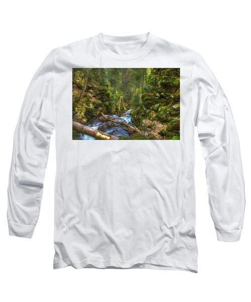 Looking Down The Gorge Long Sleeve T-Shirt