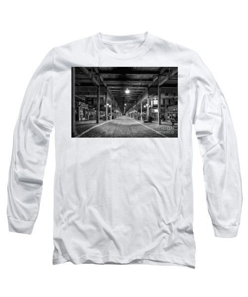 Looking Down The Tracks Long Sleeve T-Shirt