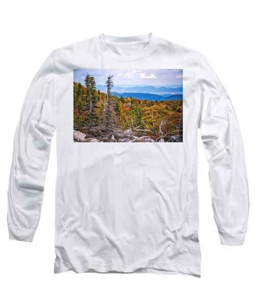 Looking East From Bear Rocks 4290c Long Sleeve T-Shirt