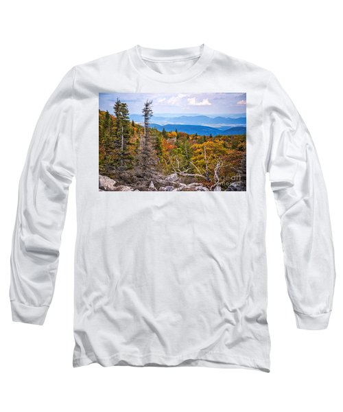 Looking East From Bear Rocks 4290c Long Sleeve T-Shirt