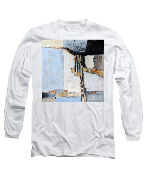 Long Sleeve T-Shirt featuring the painting Looking For A Way Out by Ron Stephens