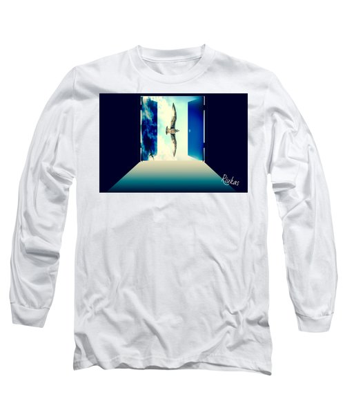 Looking Through Long Sleeve T-Shirt by Diana Riukas