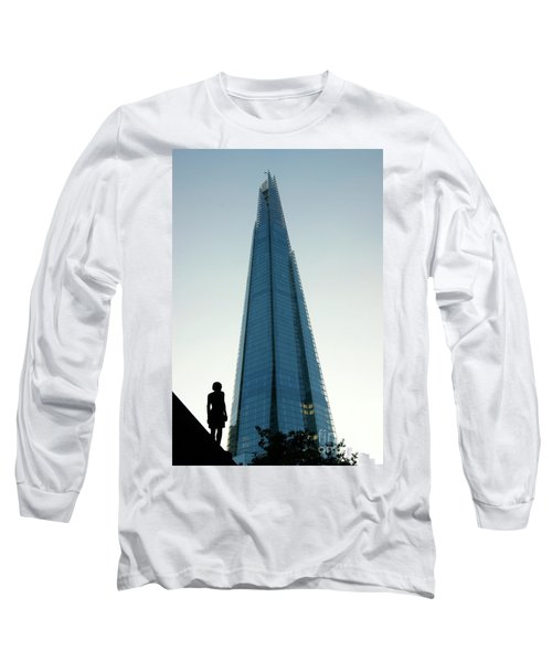 Looking Up At The Future Long Sleeve T-Shirt