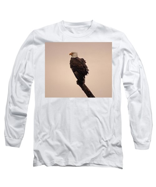 Long Sleeve T-Shirt featuring the photograph Looks Like Reign by Robert Geary