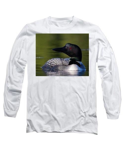 Loon Close Up Long Sleeve T-Shirt