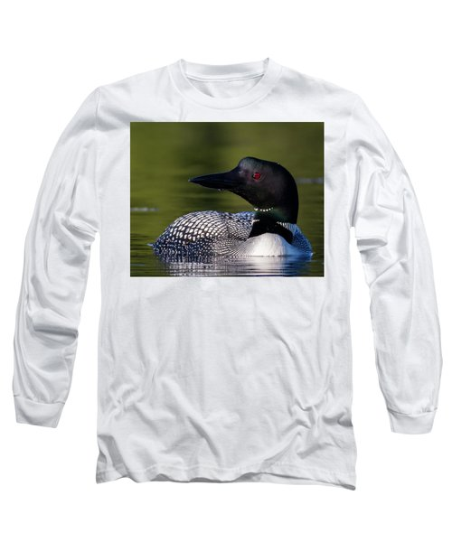Loon Close Up Long Sleeve T-Shirt
