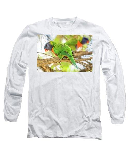 Lorrikeets 02 Long Sleeve T-Shirt