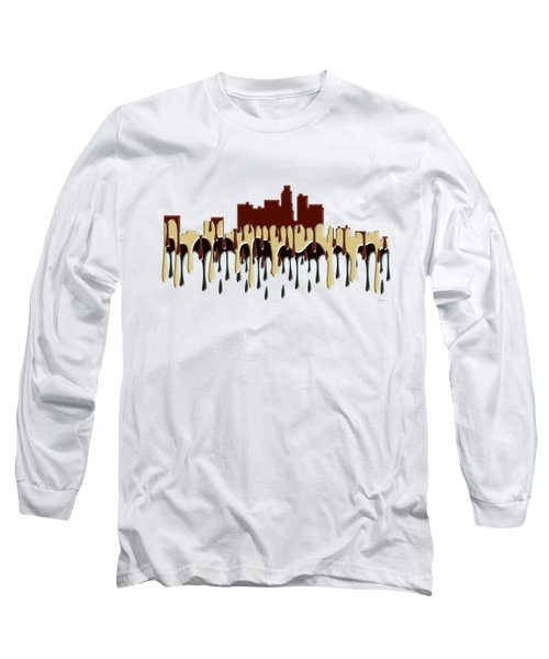 Los Angeles Ca Skyline Long Sleeve T-Shirt