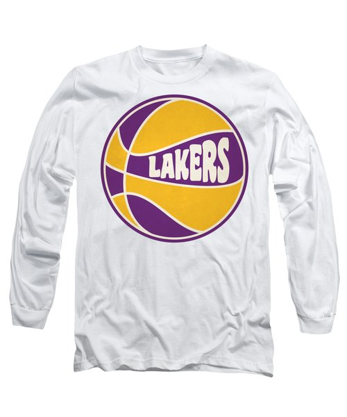 Los Angeles Lakers Retro Shirt Long Sleeve T-Shirt