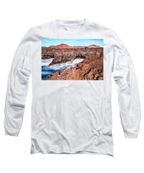 Los Hervideros - Lanzarote Long Sleeve T-Shirt