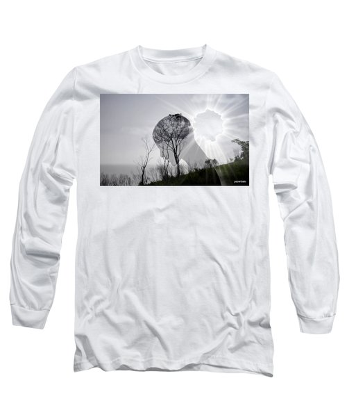 Lost Connection With Nature Long Sleeve T-Shirt by Paulo Zerbato