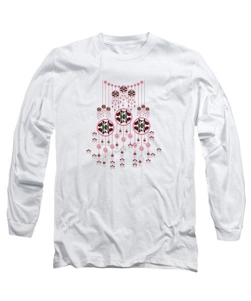 Lotus Design Long Sleeve T-Shirt