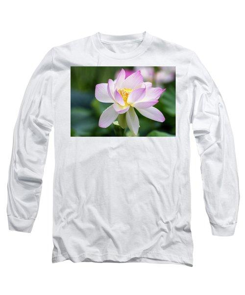 Lotus Long Sleeve T-Shirt by Edward Kreis