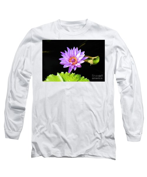 Lotus Splendor Long Sleeve T-Shirt