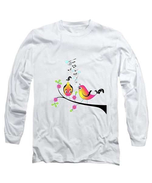 Love Bird Serenade Long Sleeve T-Shirt