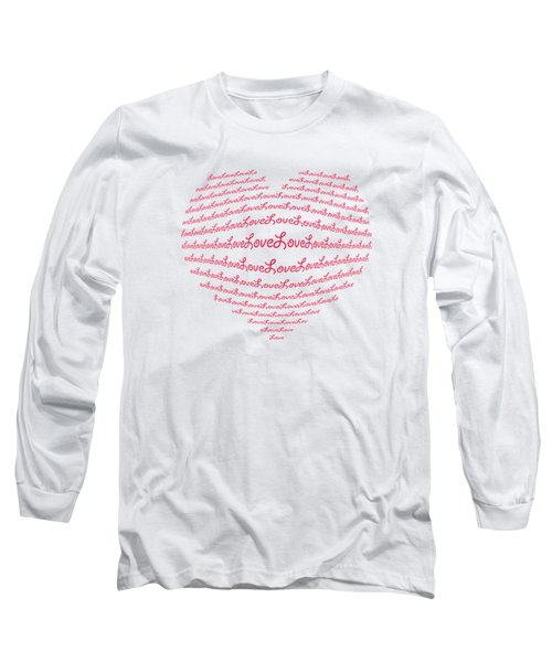 Love Boom Long Sleeve T-Shirt by Scott Carruthers