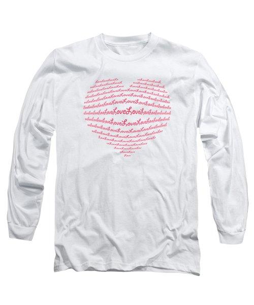 Love Boom Long Sleeve T-Shirt
