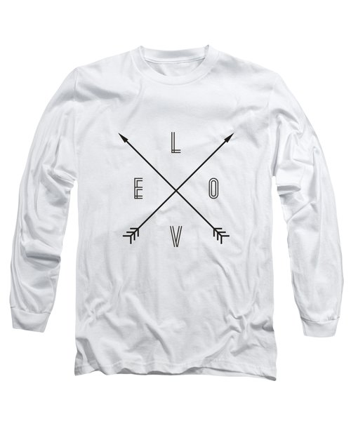 Love Compass Long Sleeve T-Shirt