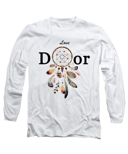 Love Dior Watercolour Dreamcatcher Long Sleeve T-Shirt