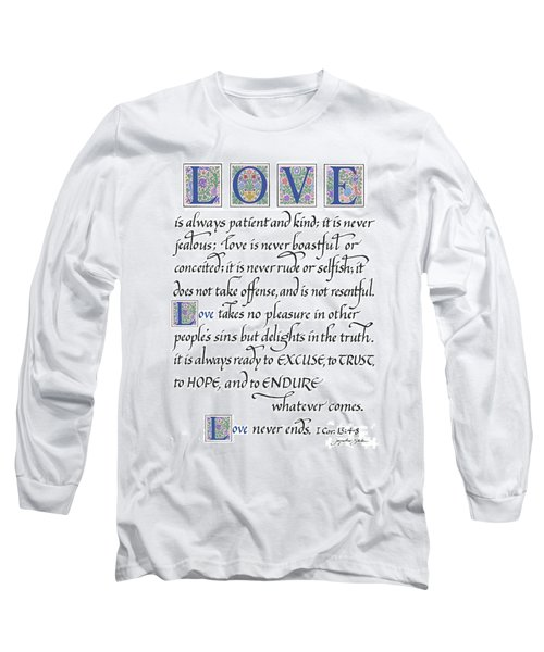 Love Is Always Patient Long Sleeve T-Shirt