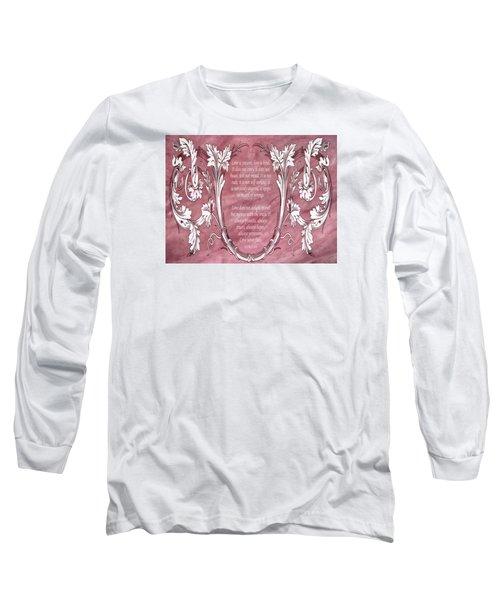 Long Sleeve T-Shirt featuring the digital art Love Is Kind by Angelina Vick