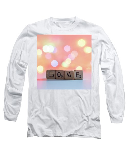 Love Lights Square Long Sleeve T-Shirt by Terry DeLuco
