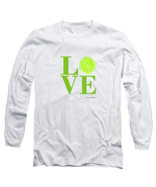Love Lime Long Sleeve T-Shirt