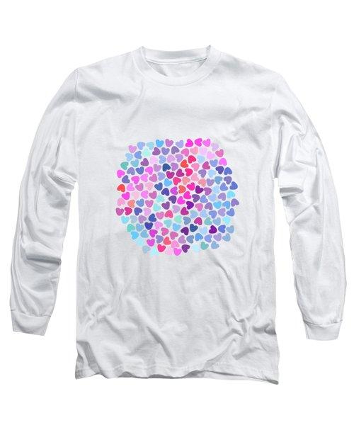Love Love Love Long Sleeve T-Shirt by Amir Faysal
