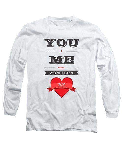 Love Lyrics Quotes Typography Quotes Poster Long Sleeve T-Shirt
