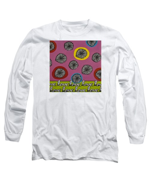 Love Multiplied Long Sleeve T-Shirt by Gloria Rothrock