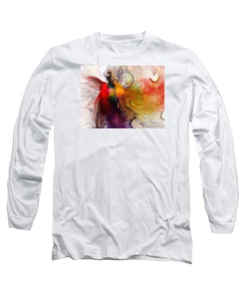 Love Of Liberty Long Sleeve T-Shirt by Karin Kuhlmann
