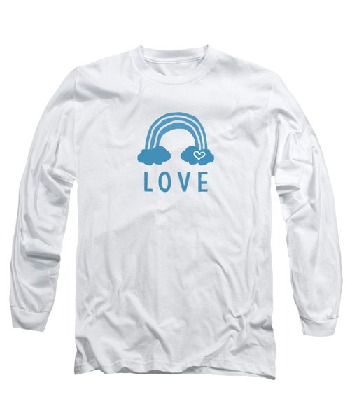 Love Rainbow- Art By Linda Woods Long Sleeve T-Shirt