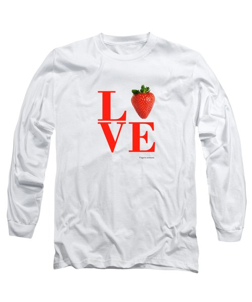 Love Strawberry Long Sleeve T-Shirt