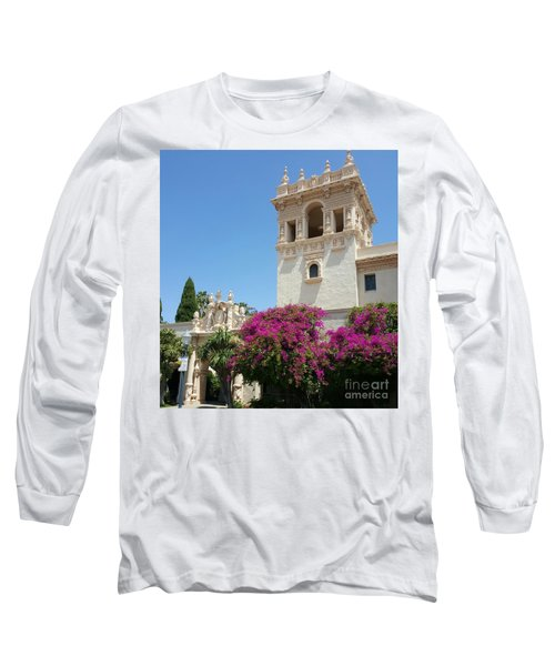 Lovely Blooming Day In Balboa Park San Diego Long Sleeve T-Shirt by Jasna Gopic