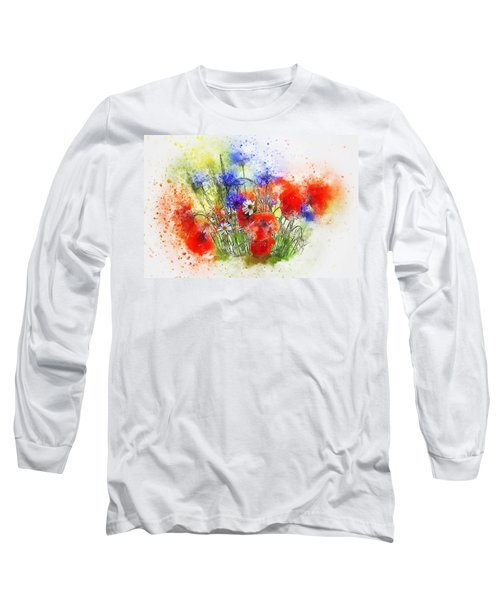 Watercolour Bouquet Long Sleeve T-Shirt