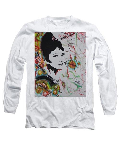 Lovely Hepburn Long Sleeve T-Shirt