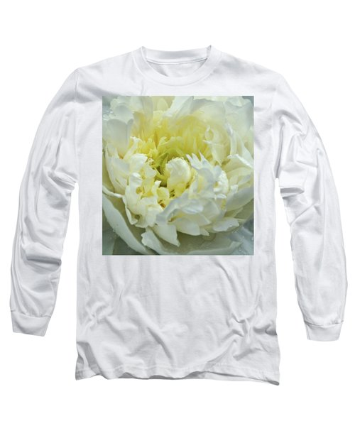 Long Sleeve T-Shirt featuring the photograph Lovely Peony by Sandy Keeton