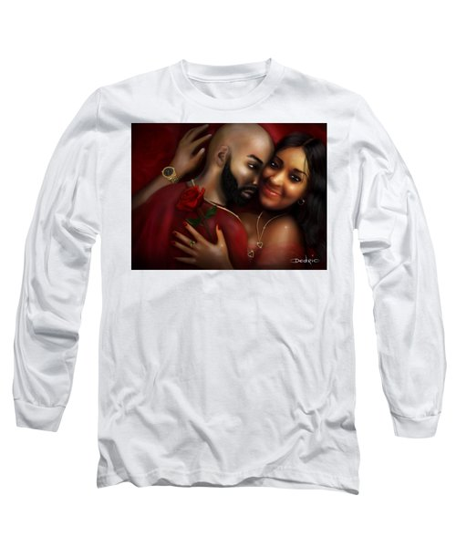 Lovers Portrait Long Sleeve T-Shirt