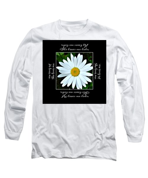 Loves Me Loves Me Lots Long Sleeve T-Shirt