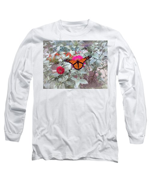 Loving The Zinnias Long Sleeve T-Shirt