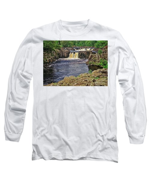 Low Force Waterfall, Teesdale, North Pennines Long Sleeve T-Shirt